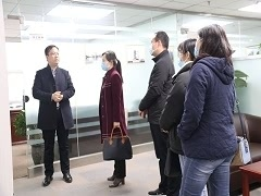 Secretary-General Zhang Yanli of the Henan Provincial People's Association for Friendship with Foreign Countries visited SRON's headquarters