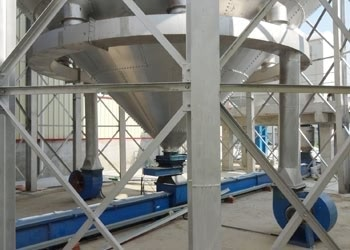 Grain Steel Silo Aeration And Ventilation System