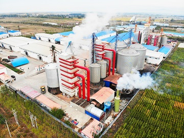 continuous type dryer tower