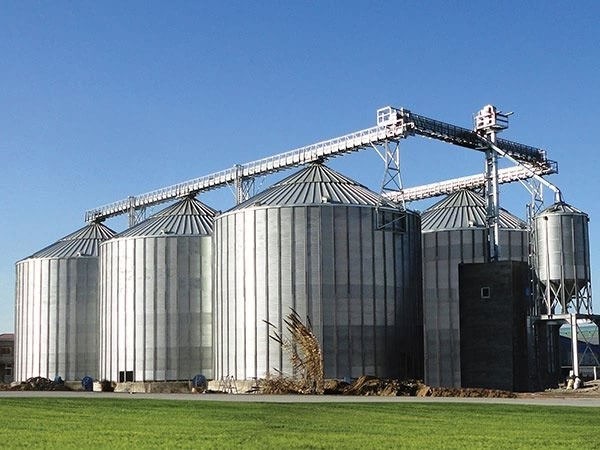 500tons And 1000tons Grain Storage Steel Silo