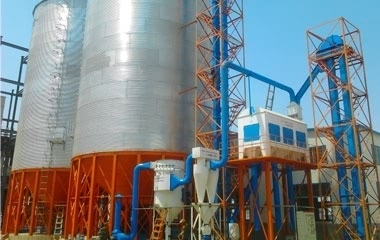 GRAIN SILO CLEANING SYSTEM