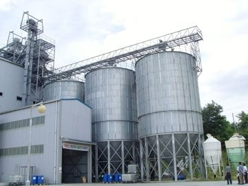 Cereal Silo for Food Processing Plant