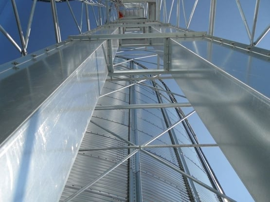 Bucket Elevator Tower For Grain Silo