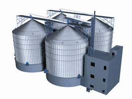Steel Grain Silo Aeration