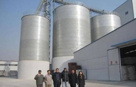 Sron grain silo Customers from Peru